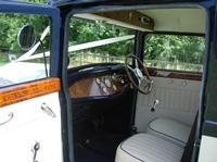 1931 streched Bentley interior
