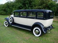1931 streched Bentley rear