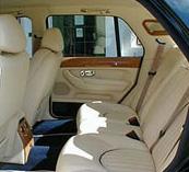 Arnage interior rear