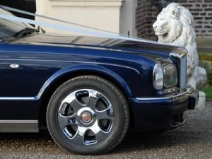 Bentley Arnage blue