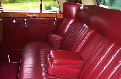 Rolls Royce Silver Cloud interior
