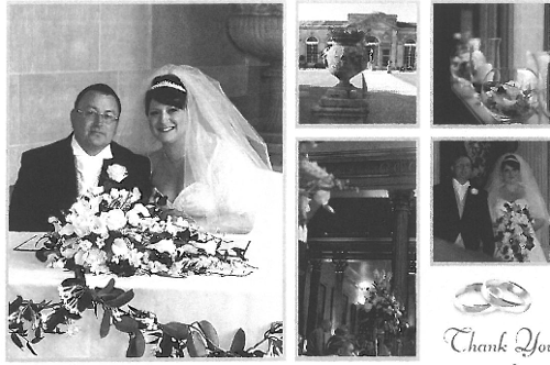 Kirstie and Paul Wedding